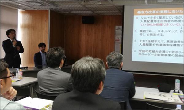 働き方改革企業ロールモデル構築業務 事例報告会