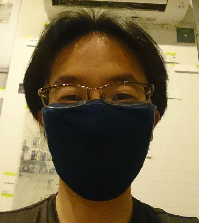 人宿藍染工房のマスク