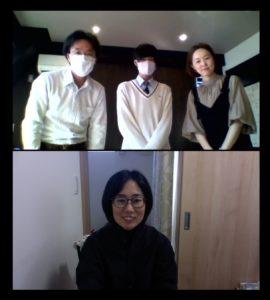 清水国際高等学校2年生のインターンシップ受入